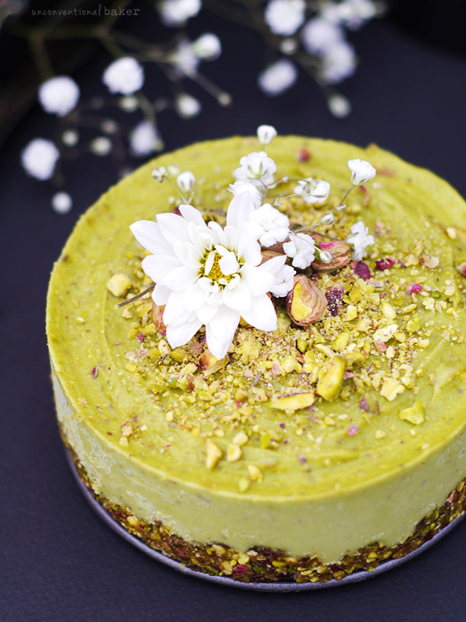 Pistachio And Orange Blossom Cake