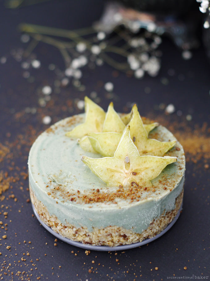 Raw Beach Cheesecake (Free from: gluten & grains, dairy, and refined sugar)